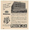 1955 McCrory's Store Brooklyn Frick Air Conditioning Ad