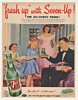 1952 7-Up Fresh Up with Seven-Up Boys First Date Ad