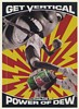 1993 Mountain Dew Get Vertical with the Power of Dew Basketball Print Ad