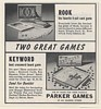 1954 Parker Brothers Games Rook Keyword Game Print Ad