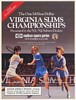 1986 Virginia Slims Tennis Championships Madison Square Garden Print Ad