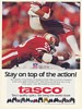 1988 Tasco Binoculars San Francisco 49ers Football John Biever Photo Print Ad