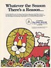 1979 The Neil House Hotel Capitol Room Columbus Ohio Lion art Print Ad