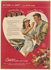 1946 Crave for Candy is a Call for Energy Tennis Couple Grant art NCA Print Ad