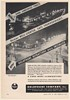 1952 Dayton Ohio Downtown Business Section Holophane Street Lighting Print Ad