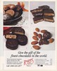 1994 Rogers Chocolates Finest in the World Handmade in Canada Print Ad