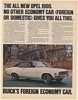 1970 Buick Opel 1900 Sport Coupe Foreign Economy Car Print Ad
