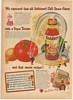 1946 Snider's Chili Sauce Captured Old Fashioned Flavor Super Tomato Print Ad
