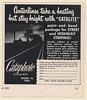1952 Cataphote Catalite Street Highway Line Striping Print Ad