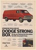 1971 Dodge Tradesman Van Strong Box Outdoes the Better Idea People 31 Ways Ad