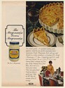 1971 Kraft Real Mayonnaise Cocktail Quiche Recipe Print Ad