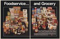 1989 Heinz Family of Pure Food Products Foodservice and Grocery 2-Page Print Ad