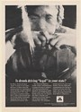 1971 State Farm Insurance Is Drunk Driving Legal in Your State Print Ad