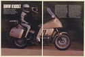 1987 BMW K100LT Motorcycle 7-Page Test Article