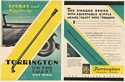 1930 Torrington Spokes and Nipples on Smart Wire Wheel Double-Sided Print Ad