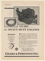 1930 250 HP V Type Le Roi Heavy Duty Engine Gears & Forgings Inc Print Ad
