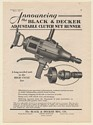 1930 Black & Decker Adjustable Clutch Nut Runner Print Ad