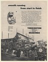 1951 Fourdrinier Paper Making Machine Torrington Spherical Roller Bearings Ad