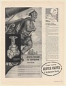 1951 Native Ship Bow Ornament Aloyco Gate Valve Alloy Steel Products Co Print Ad