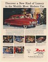1951 Nash Ambassador Airflyte Discover New Kind of Luxury World's Most Modern Ad