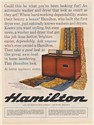 1964 Hamilton Automatic Washer and Dryer Two Rivers WI Print Ad