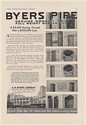 1920 Byers Pipe Wrought Iron Quality Savings Comparison to Other Pipe Print Ad