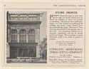 1920 Timmons' Restaurant 1520 Market St Philadelphia Conkling-Armstrong Print Ad