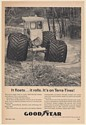 1964 ARDCO Water Buggy Rolls Through Swamp Goodyear Terra-Tires Print Ad