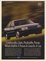 1995 Chevy Lumina Comfortable Quiet Predictable Precise Dull Person Great Car Ad