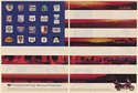 1992 Honda Gold Wing GL 1500 Road Signs USA Flag Design Made Here 2-Page Ad