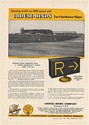 1955 Syracuse Airport Crouse-Hinds TGS Taxi Guidance Sign Print Ad