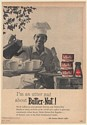 1961 Butter-Nut Coffee Man Barbecuing I'm an Utter Nut Print Ad