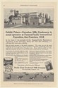 1915 Carnation Milk Condensery at Panama-Pacific International Expo Print Ad