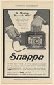 1902 Snappa Camera Magazine Rochester Optical and Camera Co Print Ad
