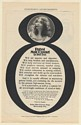 1902 Pabst Malt Extract The Best Tonic Lady Drinking F.R. Zeit MD Print Ad