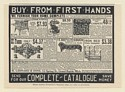 1902 H Leonard & Sons Home Furn Stove Coach Carpet Dinnerware Couch Bed Print Ad