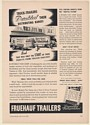 1941 Stokely Van Camp Indianapolis Fruehauf Truck Trailers Trade Print Ad