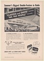 1941 Claudia and David We, The People on Radio Grape-Nuts Flakes Trade Print Ad