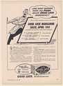 1941 Jelke's Good Luck Margarine Grocer Push Sales Increase Trade Print Ad