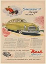 1950 Nash Airflyte 4-Door Sedan Different You Have No Idea Print Ad
