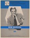 1979 Bob Barker Photo International Tour Consultants Booking Trade Print Ad