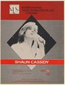 1979 Shaun Cassidy Photo Booking Trade Print Ad