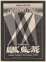 1979 Music Shoppe International Canadian Stars Agency Booking Trade Print Ad