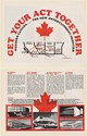 1979 Western Canada Stadiums Music Booking Trade 2-Page Print Ad