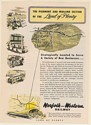 1949 Norfolk and Western Piedmont and Midland Section of The Land of Plenty Ad