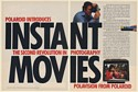 1978 Polaroid Introduces Polavision Instant Movies 2-Page Print Ad