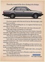 1982 Honda Accord 4-Door Sedan Even the Sound of Door Closing is by Design Ad