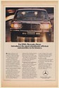 1980 Mercedes-Benz The Most Relentlessly Efficient Automobiles in its History Ad