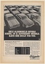 1980 Oldsmobile Diesel 21 Different Models Have One Built For You Print Ad