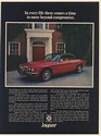 1976 Jaguar XJC Every Life There Comes a Time to Move Beyond Compromise Print Ad